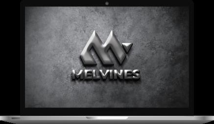 3d Logo Design Laptop Mockup
